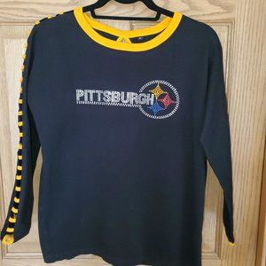Steelers Bling Long Sleeve - Size L